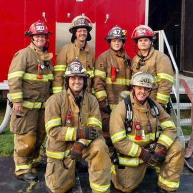 Bertrand Township Firemen